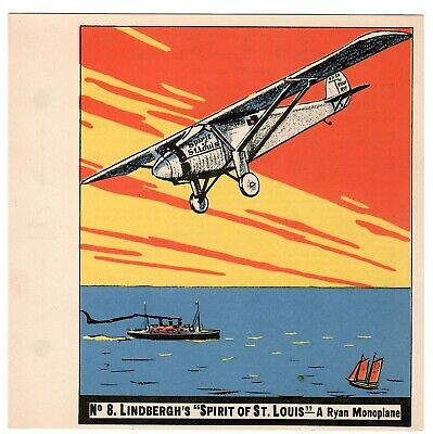 1936 Goudey History Of Aviation Complete 10 Card Set Unpunched 8