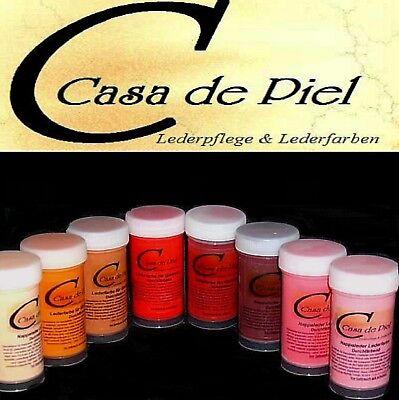 CDP Lederfarbe Nappalederfarbe Farbe Leder färben Leather Dye 30 Farben -  150ml 3