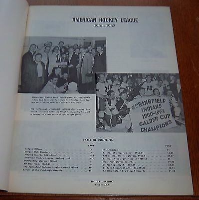 AHL yearbook 1961-62