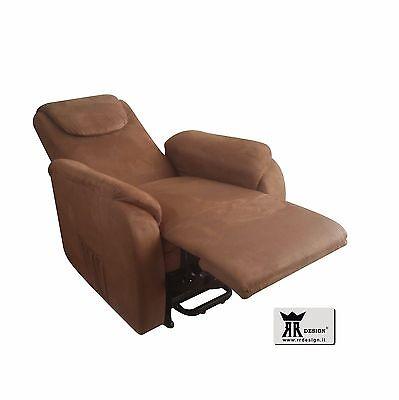 Poltrone Relax Per Anziani.Poltrona Relax Sara Con Alza Persona Con 2 Motori Per Anziani