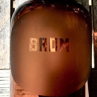 Apotheker -  sehr schöne Glaskappenflasche - BROM  -sehr selten - Gruseldeko 9