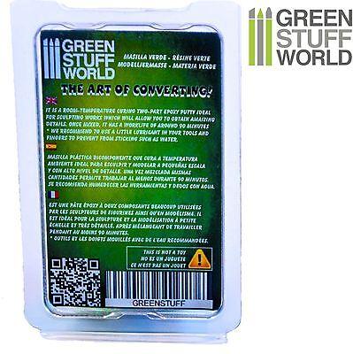 Résine Verte 6' (15 cm) en bande - Green Stuff - Pâte époxy - Warhammer 2