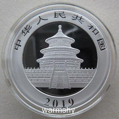 China 2019 Panda Commemorative Silver Coin 30g 10 Yuan 2