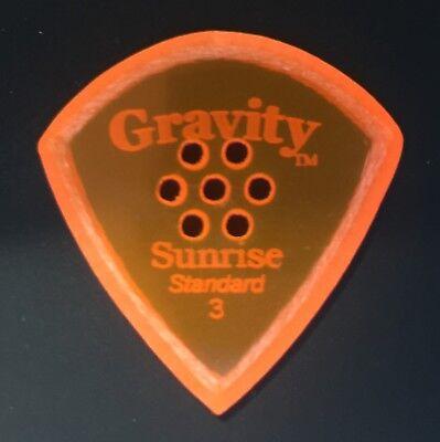 Gravity Picks Europe Classic Razer Sunrise Plectrum 12