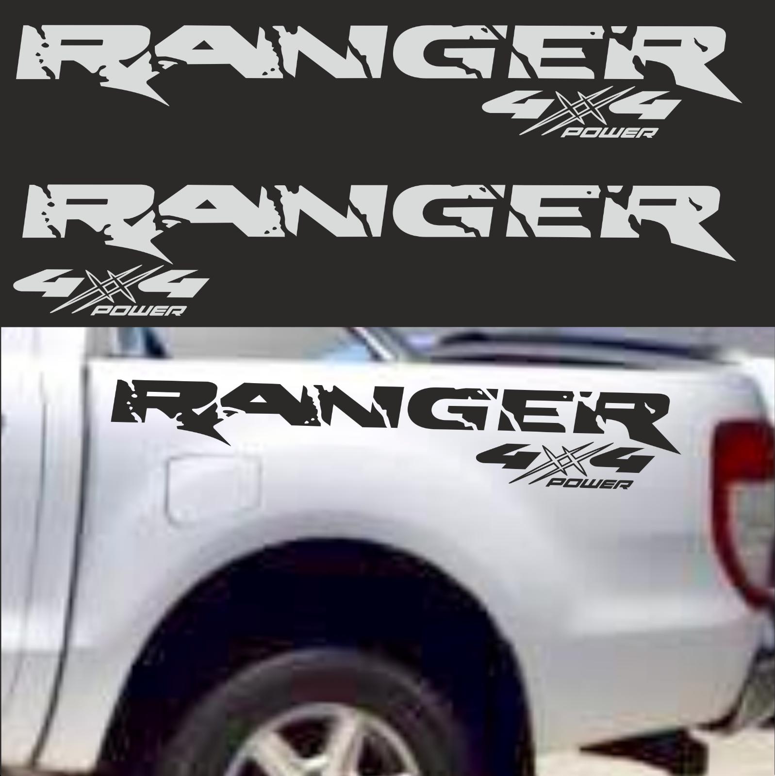 4x4 Passt Für Ford Ranger 4x4 Aufkleber Sticker 4 X 4 Offrod Off Road 4 X 4 Jeep