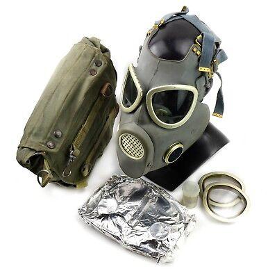 Vintage soviet era gas mask. Polish military Gas Mask MP-4. NEW Full set surplus 2