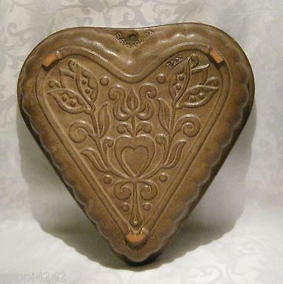 ++  Bay Ceraback - Keramik - Herz Kuchen - Form - Decor Svenia N° 192 23 ++Hhj 2