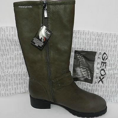 GEOX Chaussures Boots Femme 13T1U D Bottes HALEY Mi 40 fb6mIY7gyv