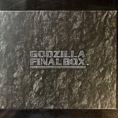 GODZILLA FINAL BOX - COMPLETE SET!!! DVD Set, Poster Book, Bust, Display Stand 7
