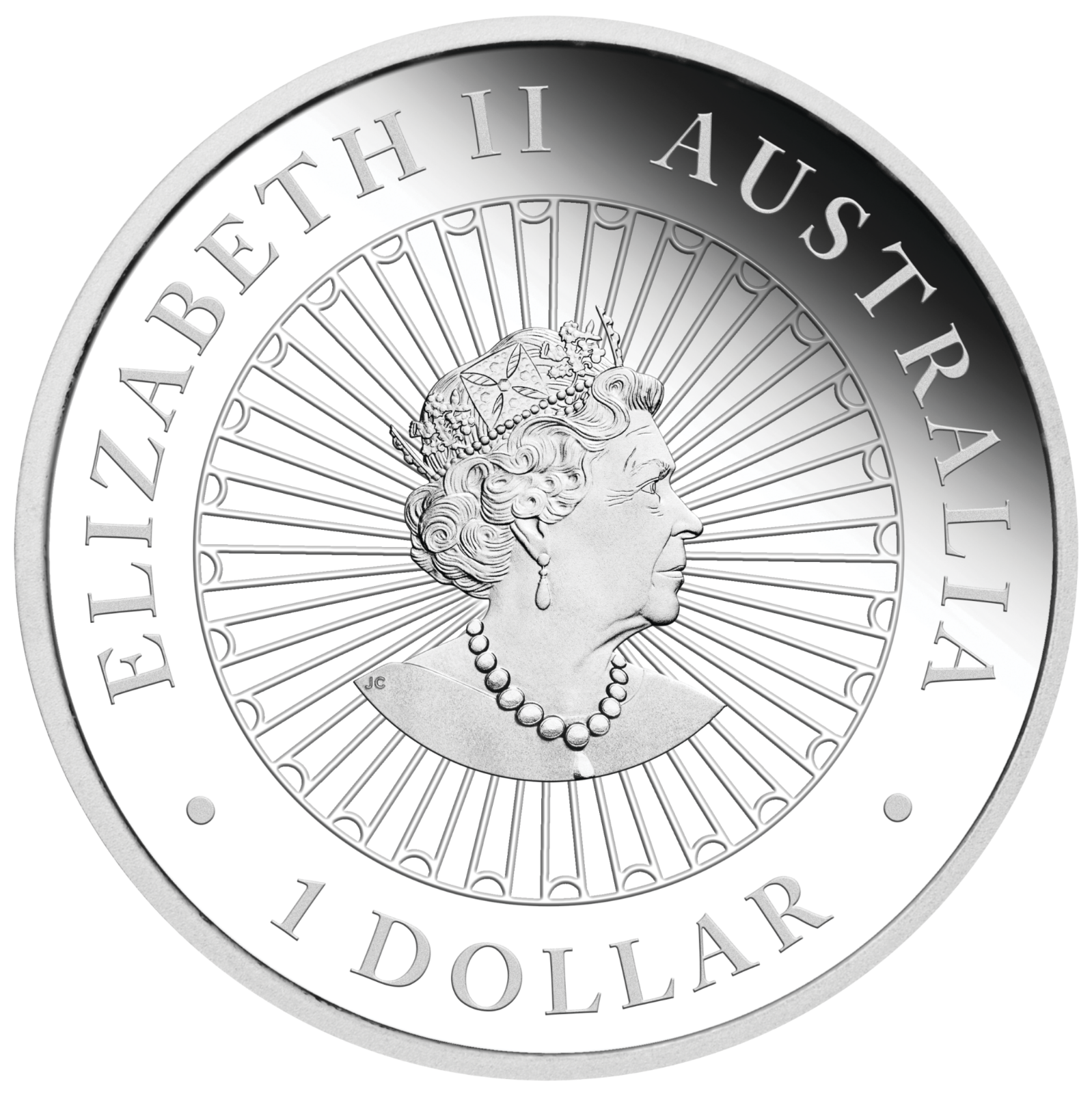 2019 Australia Opal Series Lunar Year of the PIG 1oz Silver Proof $1 Coin 2
