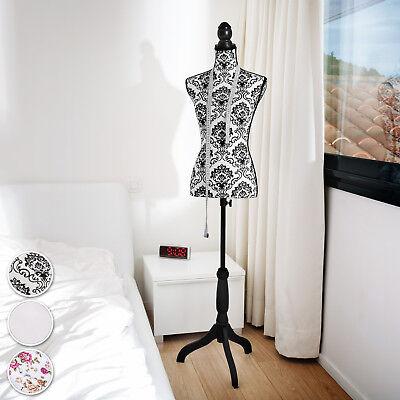 Manichino da sarta busto donna da sartoria femminile sartorie vintage bianco nuo 2