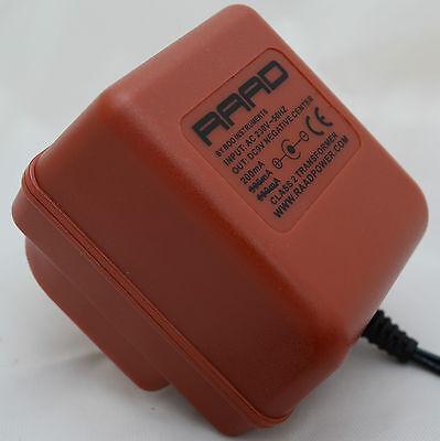 raad regulated power supply sub for boss psa 240 psa 230 dc 9v