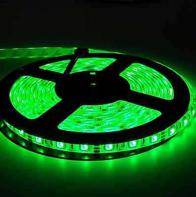 5050 RGB 5M 300 LEDS SMD LED Strip Light 12V Waterproof 24 KEY IR Controller 7