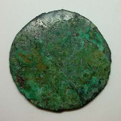 Bronze Mirror Cross / Flower  100-300AD. Scythian Celtic 2