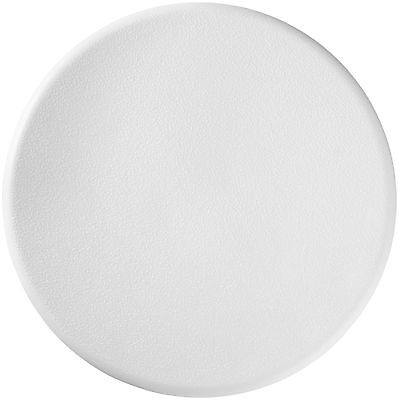 Taburete de ducha redondo asiento silla baño bañera altura ajustable blanco alu
