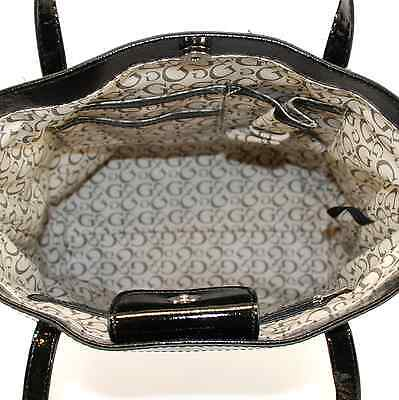 ... Guess Authentic Tansy Black beige Signature Tote Bag Handbag Purse New 9 494e75fe5b2fb