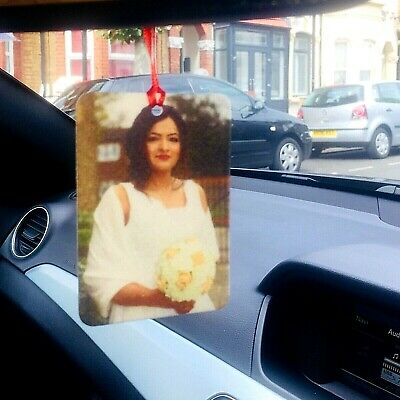Personalised Car Air freshener 3
