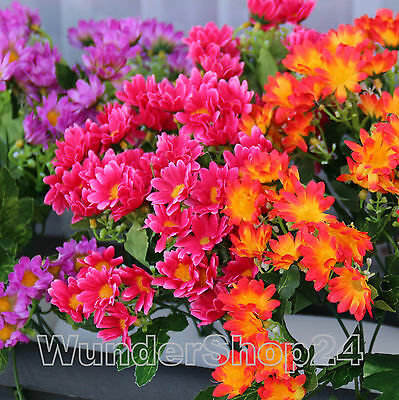 Balkonblumen Dendranthema Balkon Blumen Seidenblumen Kunstblumen