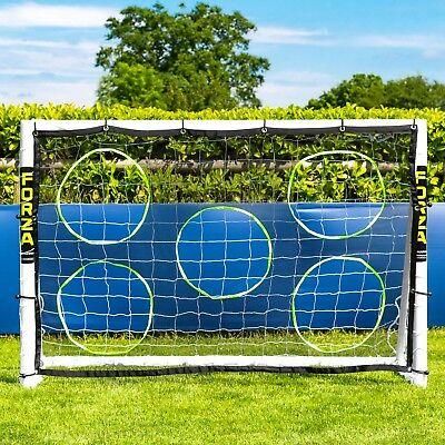 FORZA Football Goals - Locking, Match, Steel & Aluminium Goal [Net World Sports] 8