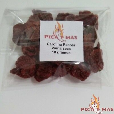 Carolina Reaper Chilli Pods - Worlds Hottest Chilli - 100% Reaper 10g 10