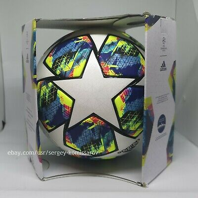 Adidas Champions League Finale 2019-2020 OMB ball, size 5, DY2560, with box 8