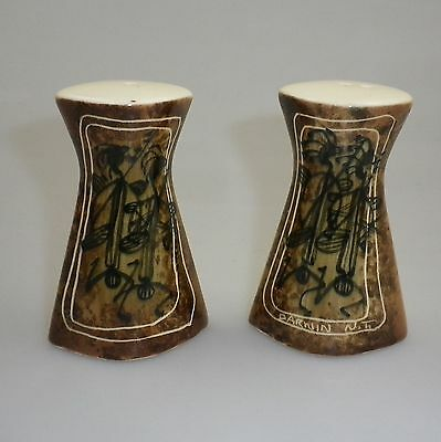 STUDIO ANNA DARWIN NT Souvenir Salt and Pepper Shakers - Indigenous Design