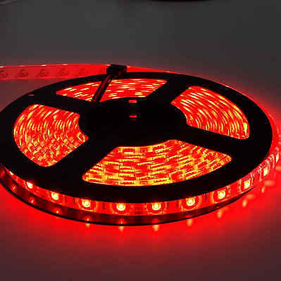 5050 RGB 5M 300 LEDS SMD LED Strip Light 12V Waterproof 24 KEY IR Controller 8