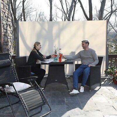 Store latéral paravent extérieur rétractable pour balcon brise-vue abri soleil 4