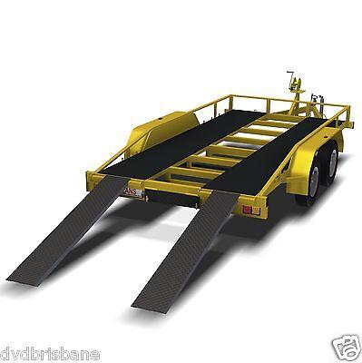 Trailer Plans    -    2500kg FLATBED CAR TRAILER PLANS    -    PRINTED HARDCOPY 2