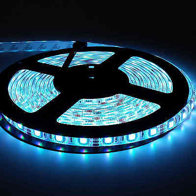 5050 RGB 5M 300 LEDS SMD LED Strip Light 12V Waterproof 24 KEY IR Controller 10