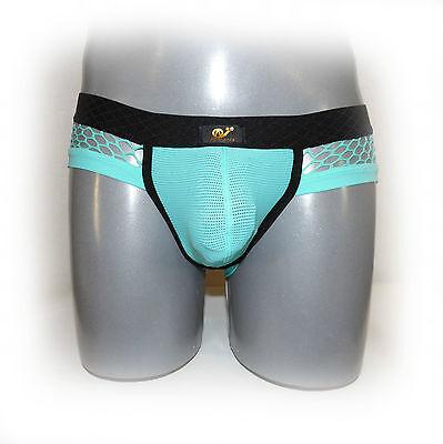 WJ - Pants mit farblich abgesetzter Naht und Netzstoff M (1058) 2