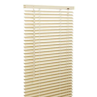 Pvc Venetian Window Blinds. Easy Fit Home Blind. White, Black, Beech, Many Sizes 4