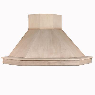CAPPA CUCINA CLASSICA legno 105 x105 angolo toulipie\' grezzo STOCK ...
