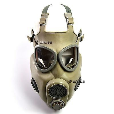 Czech Czechoslovakian army military Gas Mask M-10. New full set. CZ gas mask M10 3