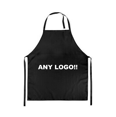 Personalised Apron Custom Printed Master Head Cooking Chef Logo Text Any Photo
