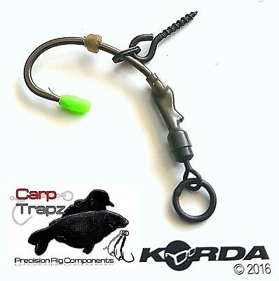 Spinner Rig Teflon Hook Pre Tied Carp Rigs Korda 5 Korda Ronnie Rig pack