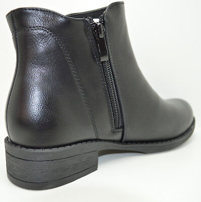 ... Tronchetto con elastico scarpe da donna con zip stivaletti corti beatles  4 d61129142a7
