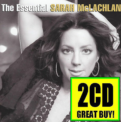 SARAH McLACHLAN (2 CD) THE ESSENTIAL ~ GREATEST HITS / BEST OF 90's *NEW* 2