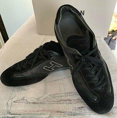 SCARPE UOMO HOGAN Olympia nere pelle camoscio numero 43 black ...