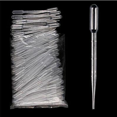 1/3/5/10ML Disposable Plastic Clear Eye Oil Dropper Transparent Graduat PipetteS 4
