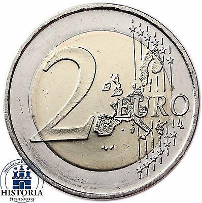 Deutschland 2 Euro Hamburger Michel Mzz F 2008 Fehlprägung Wertseite
