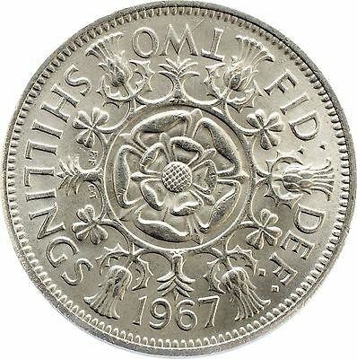 1953 to 1967 Elizabeth 2 Two Shilling / Florins Choice of Date 2