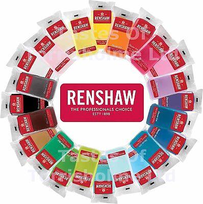 Renshaws Regalice Fondant Icing Ready To Roll 250g Colour Decorating Sugarpaste 2