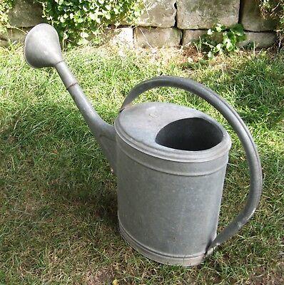 Gießkanne Giesskanne Gärtnerkanne (Blech verzinkt ; ca. 9-10 Liter) Watering Can 2