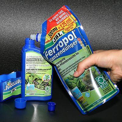 JBL Ferropol flüssiger Volldünger 625 ml für 2500 l Pflanzendünger Pflanzenwuchs 2