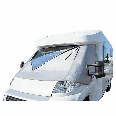 Motorhome External Thermal Screen Turn Down Cab Cover Ducato Boxer X250 2006 ON 5