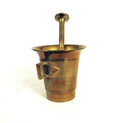 Antique Vintage Mortar And Pestle Apothecary Apotheker Mörser Skultuna No.4 4