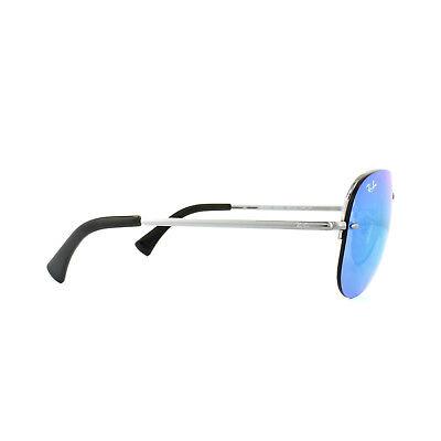 cfc77094fb4 RAY-BAN SUNGLASSES 3449 004 55 Gunmetal Blue Mirror - EUR 110