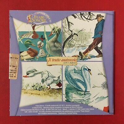 IL BRUTTO ANATROCCOLO - 1 CD Audio FIABE SONORE Fabbri (2007) Andersen NUOVO !!! 2