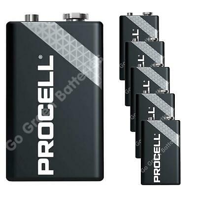 6 x Procell 9V PP3 (Replaces Duracell Industrial Batteries) LR22 BLOC MN1604 2